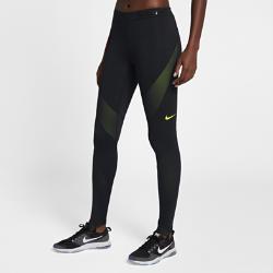 Женские тайтсы для тренинга Nike Pro HyperWarmСозданные для занятий на свежем воздухе и высокоинтенсивных тренировок женские тайтсы для тренинга Nike Pro HyperWarm из термоткани и влагоотводящего материала с сетчатыми вставками обеспечивают тепло и комфорт на каждой тренировке.  АБСОЛЮТНЫЙ КОМФОРТ  Быстросохнущая ткань с технологией Dri-FIT отводит влагу от кожи.  ОПТИМАЛЬНАЯ ВОЗДУХОПРОНИЦАЕМОСТЬ  Вставки из прочной сетки обеспечивают зональную вентиляцию для комфорта. Усовершенствованный пояс создает дополнительную вентиляцию.  ТОЧНОСТЬ ДВИЖЕНИЙ  Плотно прилегающий эластичный пояс фиксирует тайтсы, а прочная ткань, тянущаяся во всех направлениях, обеспечивает свободу движений.<br>