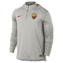 Мужская игровая футболка A.S. Roma Dri-FIT Squad DrillМужская игровая футболка A.S. Roma Dri-FIT Squad Drill из эластичной влагоотводящей ткани с рукавами покроя реглан обеспечивает комфорт и свободу движений на поле.<br>