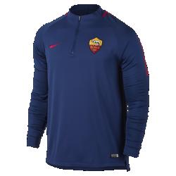 Мужская игровая футболка A.S. Roma Dry Squad DrillМужская игровая футболка A.S. Roma Dry Squad Drill из эластичной влагоотводящей ткани с рукавами покроя реглан обеспечивает комфорт и свободу движений на поле.<br>