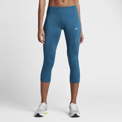 Женские укороченные тайтсы для бега Nike RacerЖенские укороченные тайтсы для бега Nike Racer со вставками из сетки в ключевых зонах обеспечивают плотную посадку, поддержку и вентиляцию.<br>