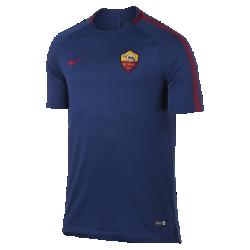 Мужская игровая футболка A.S. Roma Breathe SquadМужская игровая футболка A.S. Roma Breathe Squad из влагоотводящей ткани со вставкой из сетки на спине обеспечивает вентиляцию и комфорт на поле и за его пределами.<br>