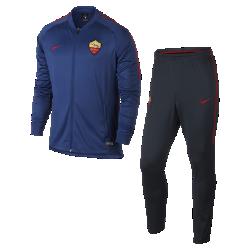 Мужской футбольный костюм A.S. Roma Dry SquadМужской футбольный костюм A.S. Roma Dry Squad из влагоотводящей ткани с фирменными деталями обеспечивает комфорт.<br>