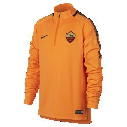 Игровая футболка для школьников A.S. Roma Dry Squad DrillИгровая футболка для школьников A.S. Roma Dry Squad Drill из эластичной влагоотводящей ткани с рукавами покроя реглан обеспечивает комфорт и свободу движений на поле.<br>