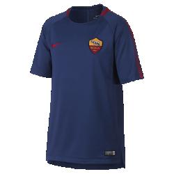 Игровая футболка для школьников A.S. Roma Breathe SquadИгровая футболка для школьников A.S. Roma Breathe Squad из влагоотводящей ткани с сетчатой вставкой на спине обеспечивает вентиляцию и комфорт на поле и за его пределами.<br>