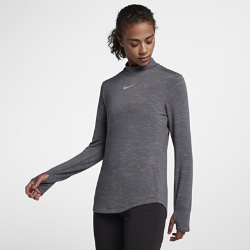 Женская футболка для гольфа с длинным рукавом Nike DryЖенская футболка для гольфа с длинным рукавом Nike Dry из влагоотводящей ткани обеспечивает комфорт во время игры.<br>