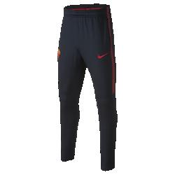 Футбольные брюки для школьников A.S. Roma Dri-FIT SquadФутбольные брюки для школьников A.S. Roma Dri-FIT Squad из эластичной влагоотводящей ткани обеспечивают комфорт и свободу движений во время тренировок.<br>