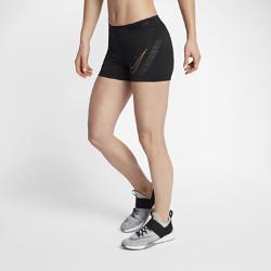 Женские шорты для тренинга Nike Pro HyperCool 7,5 смЖенские шорты для тренинга Nike Pro HyperCool 7,5 см из эластичной ткани со вставками из дышащей сетки обеспечивают вентиляцию и комфорт во время тренировки.<br>