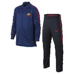 Футбольный костюм для школьников A.S. Roma Dry SquadФутбольный костюм для школьников A.S. Roma Dry Squad из влагоотводящей ткани с фирменными деталями обеспечивает комфорт.<br>