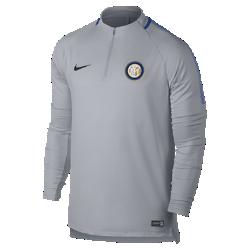 Мужская игровая футболка Inter Milan Dri-FIT Squad DrillМужская игровая футболка Inter Milan Dri-FIT Squad Drill из эластичной влагоотводящей ткани с рукавами покроя реглан обеспечивает комфорт и свободу движений на поле.<br>