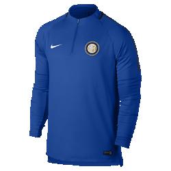 Мужская игровая футболка Inter Milan Dry Squad DrillМужская игровая футболка Inter Milan Dry Squad Drill из эластичной влагоотводящей ткани с рукавами покроя реглан обеспечивает комфорт и свободу движений на поле.<br>