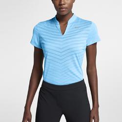 Женская рубашка-поло для гольфа Nike Zonal CoolingЖенская рубашка-поло для гольфа Nike Zonal Cooling с сеткой по всей поверхности обеспечивает дополнительную воздухопроницаемость для комфорта во время игры.<br>