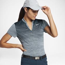 Женская рубашка-поло для гольфа Nike Zonal CoolingЖенская рубашка-поло для гольфа Nike Zonal Cooling с зонами усиленной вентиляции обеспечивает воздухопроницаемость там, где это необходимо.<br>