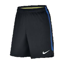Мужские футбольные шорты Inter Milan SquadМужские футбольные шорты Inter Milan Squad из влагоотводящей ткани обеспечивают комфорт и свободу движений на поле.<br>