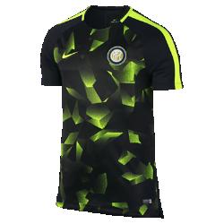 Мужская игровая футболка Inter Milan Dri-FIT SquadМужская игровая футболка Inter Milan Dri-FIT Squad из влагоотводящей ткани с рукавами покроя реглан обеспечивает комфорт и свободу движений во время игры.<br>