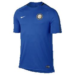 Мужская игровая футболка Inter Milan Breathe SquadМужская игровая футболка Inter Milan Breathe Squad из влагоотводящей ткани со вставкой из сетки на спине обеспечивает вентиляцию и комфорт на поле и за его пределами.<br>