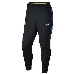 Мужские футбольные брюки Inter Milan Dry SquadМужские футбольные брюки Inter Milan Dry Squad из эластичной влагоотводящей ткани обеспечивают комфорт и свободу движений во время тренировок.<br>