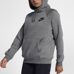 Женская худи Nike Sportswear RallyЖенская худи Nike Sportswear Rally из флиса с обратным начесом обеспечивает тепло и комфорт на весь день.<br>