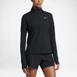 Женская беговая футболка с длинным рукавом Nike ElementЖенская беговая футболка с длинным рукавом Nike Element идеально подходит для пробежек в прохладную погоду, сохраняя тепло и препятствуя перегреву. Более свободный кройосновы и области подмышек позволяет надевать модель поверх майки, а отверстия для больших пальцев на манжетах обеспечивают дополнительный комфорт.<br>