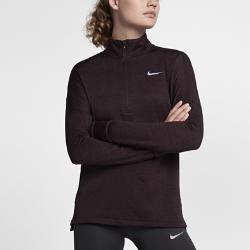 Женская беговая футболка с длинным рукавом Nike Therma Sphere ElementЖенская беговая футболка с длинным рукавом Nike Therma Sphere Element обеспечивает тепло и комфорт на пробежках в холодное время года. Свободный крой создает дополнительное пространство для свободы движений. Модель удобно надевать поверх майки или футболки.<br>