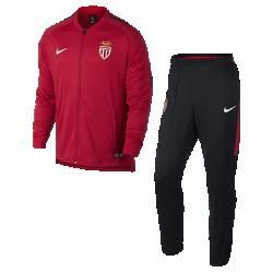 Мужской футбольный костюм A.S. Monaco FC Dry SquadМужской футбольный костюм A.S. Monaco FC Dry Squad из влагоотводящей ткани с фирменными деталями обеспечивает комфорт.<br>