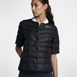 Женская куртка для гольфа Nike AeroLoft HyperAdaptЖенская куртка для гольфа Nike AeroLoft HyperAdapt обеспечивает тепло и свободу движений для полного комфорта во время игры и на каждый день.  ТЕПЛО  Легкий и теплый наполнитель Nike AeroLoft и зональная вентиляция для оптимальной функциональности в холодную погоду.  ОПТИМАЛЬНАЯ ВОЗДУХОПРОНИЦАЕМОСТЬ  Лазерная перфорация обеспечивает воздухопроницаемость и предотвращает перегрев.  СВОБОДА ДВИЖЕНИЙ  Эластичная конструкция Nike HyperAdapt обеспечивает полную свободу движений и комфорт при каждом замахе.<br>