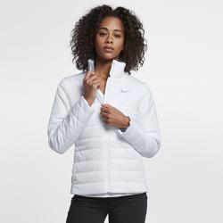 Женская куртка для гольфа Nike RepelЖенская куртка для гольфа Nike Repel с легким наполнителем и водоотталкивающим покрытием обеспечивает тепло и комфорт во время игры.<br>