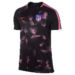 Мужская игровая футболка с коротким рукавом Atletico de Madrid Dry SquadМужская игровая футболка Atletico de Madrid Dry Squad из эластичной влагоотводящей ткани с короткими рукавами покроя реглан обеспечивает комфорт и свободу движений на поле.<br>