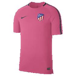 Мужская игровая футболка Atletico de Madrid Breathe SquadМужская игровая футболка Atletico de Madrid Breathe Squad из влагоотводящей ткани со вставкой из сетки на спине обеспечивает вентиляцию и комфорт на поле и за его пределами.<br>