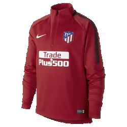 Игровая футболка для школьников Atletico de Madrid Dry Squad DrillИгровая футболка для школьников Atletico de Madrid Dry Squad Drill из эластичной влагоотводящей ткани с рукавами покроя реглан обеспечивает комфорт и свободу движений на поле.<br>