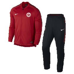 Мужской футбольный костюм Eintracht Frankfurt Dry SquadМужской футбольный костюм Eintracht Frankfurt Dry Squad из влагоотводящей ткани с фирменными деталями обеспечивает комфорт.<br>