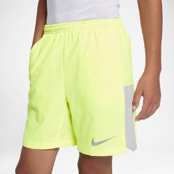 Беговые шорты для мальчиков школьного возраста Nike Flex 15 смБеговые шорты для мальчиков школьного возраста Nike Flex 15 см из влагоотводящей ткани обеспечивают комфорт и свободу движений на всей дистанции.<br>