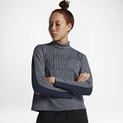 Женская футболка с длинным рукавом Nike Sportswear KnitЖенская футболка с длинным рукавом Nike Sportswear Knit из мягкого смесового хлопка двойного переплетения обеспечивает удобную посадку.<br>