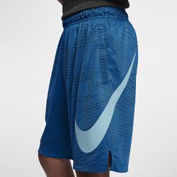 Шорты для тренинга для мальчиков школьного возраста Nike Dry 20,5 смШорты для тренинга для мальчиков школьного возраста Nike Dry 20,5 см из влагоотводящей ткани обеспечивают комфорт во время тренировок и игр.<br>