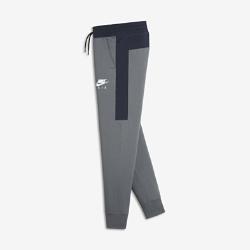 Брюки для мальчиков школьного возраста Nike AirБрюки для мальчиков школьного возраста Nike Air из мягкого смесового хлопка обеспечивают комфорт на весь день.<br>