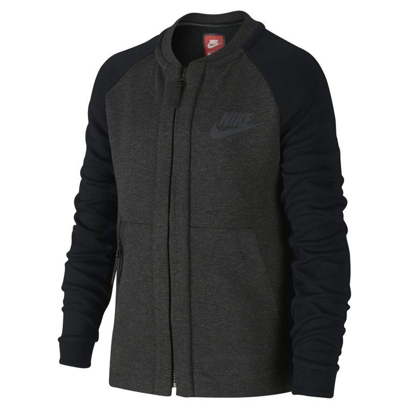 Nike Sportswear Tech Fleece Bomber Older Kids (Boys) Jacket - Black