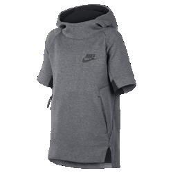 Худи с коротким рукавом для мальчиков школьного возраста Nike Sportswear Tech FleeceХуди с коротким рукавом для мальчиков школьного возраста Nike Sportswear Tech Fleece с невесомым утеплителем обеспечивает идеальный баланс тепла и свободы движений.<br>