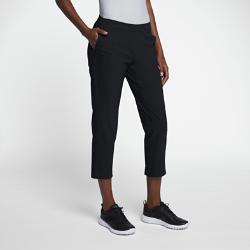 Женские брюки для гольфа Nike FlexЖенские брюки для гольфа Nike Flex из ткани, которая тянется во всех направлениях, дополнены эластичным внутренним поясом для надежной посадки и свободы движений.  СВОБОДА ДВИЖЕНИЙ  Эластичная ткань повторяет движения тела, обеспечивая свободу движений при наклонах, поворотах и свингах.  КОМФОРТ  Технология Dri-FIT отводит влагу с кожи на поверхность ткани, где она быстро испаряется, обеспечивая комфорт.  КОМФОРТ И ГИБКОСТЬ  Эластичный пояс обеспечивает гибкость и комфорт, надежно фиксируя посадку.<br>