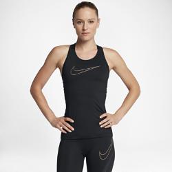 Женская майка для тренинга Nike Pro HyperCoolЖенская майка для тренинга Nike Pro HyperCool обеспечивает превосходное охлаждение и воздухопроницаемость. Продуманное расположение зон вентиляции и легкая влагоотводящая ткань помогают сохранять ощущение комфорта в самые интенсивные моменты тренировок.<br>