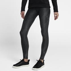 Женские тайтсы с принтом Nike PowerЖенские тайтсы для гольфа с принтом Nike Power из влагоотводящей компрессионной ткани обеспечивают комфорт и поддержку во время игры.<br>