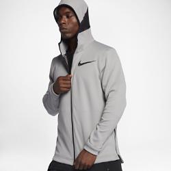 Мужская баскетбольная худи с молнией во всю длину Nike Therma Flex ShowtimeМужская баскетбольная худи с молнией во всю длину Nike Therma Flex Showtime — модель, которая дебютирует на матчах НБА. Эластичная ткань обеспечивает тепло и комфорт, позволяяполностью сконцентрироваться на игре.  Тепло, эластичность и комфорт  Ткань Nike Therma Flex обеспечивает тепло и превосходную свободу движений. Технология Dri-FIT отводит влагу с поверхности кожи, обеспечивая комфорт.  Оптимальный обзор и слышимость  Усовершенствованный крой капюшона не ограничивает обзор во время игры. Панель из сетки в области ушей не ухудшает слышимость.  Удобное хранение  Боковые карманы на молнии для телефона и других мелочей.<br>