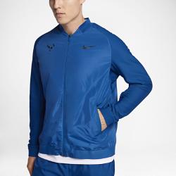 Мужская теннисная куртка NikeCourt RafaИдеально для разминки перед матчем на открытом корте. Мужская теннисная куртка NikeCourt Rafa обеспечивает защиту и комфорт благодаря водоотталкивающему покрытию.<br>