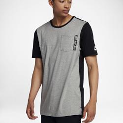 Мужская футболка Nike Sportswear Advance 15Удлиненная мужская футболка Nike Sportswear Advance 15 из мягкого и прочного хлопка обеспечивает комфорт на весь день.<br>