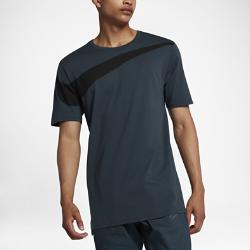 Мужская футболка с логотипом Swoosh Nike SportswearУдлиненная мужская футболка Nike Sportswear из прочного мягкого хлопка с логотипом Swoosh обеспечивает комфорт на весь день.<br>
