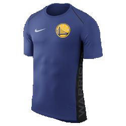 Мужская футболка НБА с коротким рукавом Golden State Warriors Nike Dry Hyper EliteМужская футболка НБА с коротким рукавом Golden State Warriors Nike Dry Hyper Elite обеспечивает охлаждение в самые жаркие моменты игры и не сковывает движений во время тренировки илиразминки. Отведение влаги Трикотажная ткань с технологией Dri-FIT отводит влагу для комфорта. Свобода движений Расположенные под углом плечевые швы, боковые кромки с разрезами и удлиненная сзади нижняя кромка для свободы движений. Комфорт и прохлада Сетка на спине для охлаждения. Информация о товаре  Состав: 100% полиэстер Машинная стирка Импорт<br>