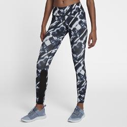 Женские беговые тайтсы с принтом Nike Epic RunЖенские беговые тайтсы с принтом Nike Epic Run из эластичной ткани обеспечивают поддержку на всей дистанции.<br>