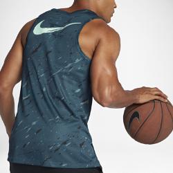 Мужская майка Nike Dry KDМужская майка Nike Dry KD из влагоотводящей сетки обеспечивает охлаждение и комфорт.<br>