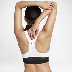 Спортивное бра со средней поддержкой Nike Classic Swoosh CoolingСпортивное бра со средней поддержкой Nike Classic Swoosh Cooling из влагоотводящей ткани со вставками из сетки обеспечивает охлаждение и комфорт.<br>