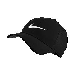 <ナイキ(NIKE)公式ストア>ナイキ レガシー 91 パーフォレイト アジャスタブル ゴルフキャップ 856831-010 ブラック 30日間返品無料 / Nike+メンバー送料無料画像