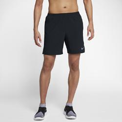Мужские беговые шорты Nike Challenger 18 смМужские беговые шорты Nike Challenger 18 см из эластичной влагоотводящей ткани с легкой подкладкой обеспечивают поддержку и комфорт.<br>