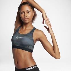 Спортивное бра со средней поддержкой Nike Classic Wind WarpСпортивное бра со средней поддержкой Nike Classic Wind Warp из влагоотводящей ткани с компрессионной посадкой обеспечивает длительный комфорт во время занятий средней интенсивности: велоспорта, танцев и кардиотренировок.<br>